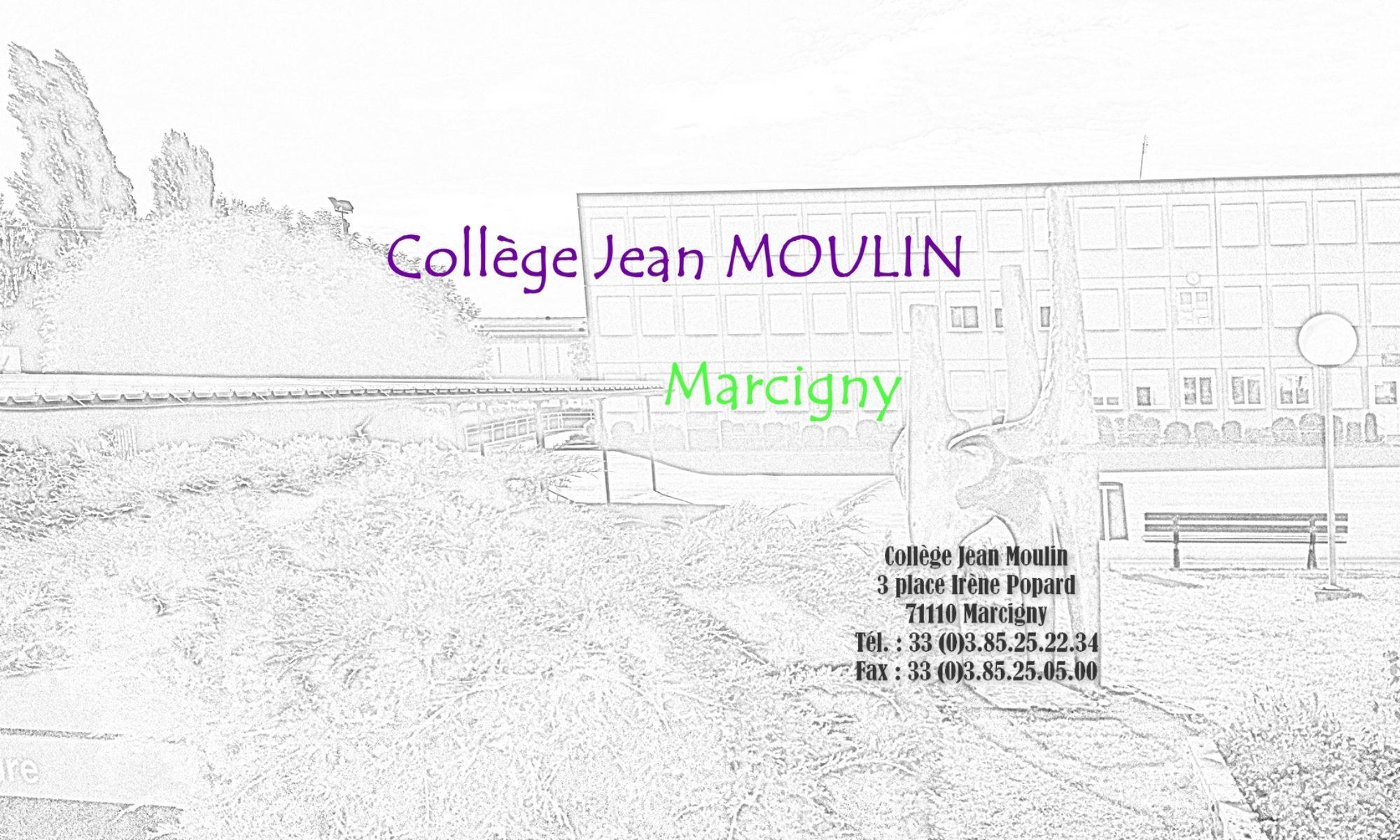 Site du collège Jean Moulin